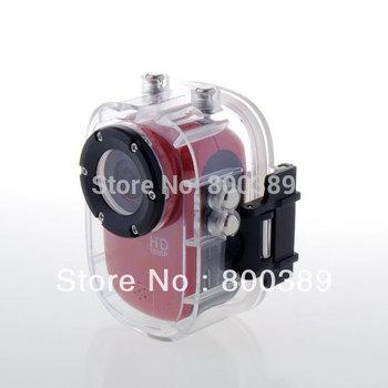 Sport Outdoor Mini Action Camera Diving 30Meter Waterproof Camera 1080P Full HD Helmet Camera Underwater Camera Sport DV Car DVR