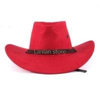 Free shipping 2013 Summer sun Hat cowboy hat men and women outdoor cap Leisure cap
