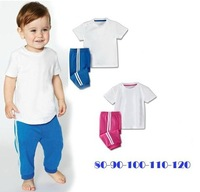 baby clothing sets   boy and girl sport sets/shirt+pants/baby wear/kids clothing/2 sets/baby kids  sport sets