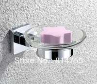 Free Shipping Soap Dish/Soap Holder,Solid Brass Construction,Chrome Finish,Bathroom Hardware,Bathroom Accessories