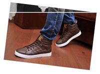 Men's spring fashion high shoes British hip-hop shoes casual shoes shoes