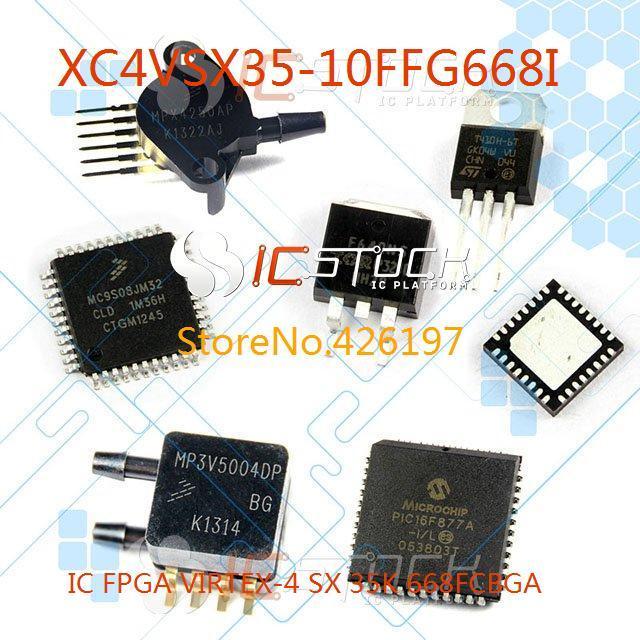 XC4VSX35-10FFG668I IC FPGA VIRTEX-4 SX 35K 668FCBGA 668 XC4VSX35 1pcs(China (Mainland))