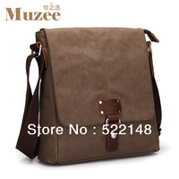 new arrival 2013 items retro  casual  shoulder bag brown canvas bags men luggage & travel bags