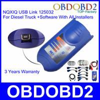 Auto Scanner Nexiq 125032 Professional Diagnose Interface For Software Diesel Truck Nexiq Diagnostic Tool 3 Years Warranty