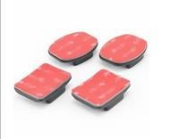F05737 2pcs Flat + 2pcs Curved Adhesive Sticky Mount For GoPro HD Hero2 Hero3 3plus 4 Camera Sport DV + FS