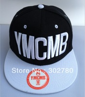 Ymcmb back and white one size button baseball cap casual hiphop hip-hop cap ny flat along the cap hiphop cap ny female hat