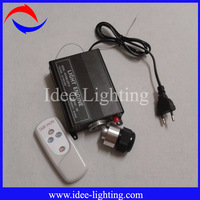 16W RGB LED fiber optic light engine with wireless remote control