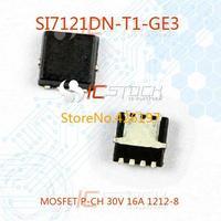 SI7121DN-T1-GE3 MOSFET P-CH 30V 16A 1212-8 7121 SI7121DN 10pcs