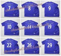 2014-15 EPL Chelsea home kids soccer jersey suits  children's football jersey  11 OSCAR Hazard #10 19 # DIEGO COSTA  8 # LAMPARD