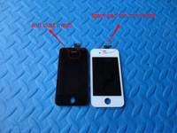 20pcs/lot  LCD digitizer Display For iPhone 4 4G 4S  Free DHL Ship with touch screen + Frame Full set Assembly