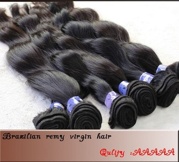 100% Brazilian Curly  Natural New Star Body Wave  Queen Products All Express Beauty Human Extensions 4pcs/lot  mixed