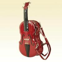 Fashion Women's Personality 3D Violin Shape Bag Messenger Bags Street Handbag 4 Colors Amliya 2014