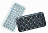 Free shipping Slim Mini Wireless Bluetooth Keyboard for iPhone4/4s,android,IOS SYSTOM,Sumsang
