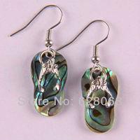 New Zealand Abalone Shell Earrings Jewelry Free Shipping T007