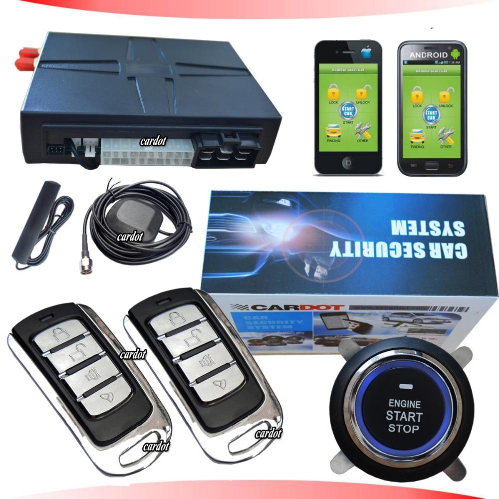 hot selling GPS car alarm system,GSM mobile opration,mobile APP free download,SMS start/stop car engine,GPS tracking system(China (Mainland))