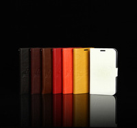 10pics/lot great quality two sides open & credit card inside Case Cover seven colours For Samsung GALAXY Note 2 free shipping
