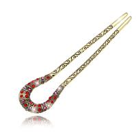 L046 hair accessory crystal hair clip maker hairpin spring clip hair accessory rhinestone