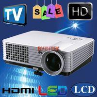2200LUMENS HD LED Projector 2 HDMI 2 USB AV TV Home Theater Beamer Low Noise Quick shipment