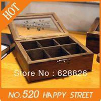 Free Shipping,Retro wooden  Storage Box,wooden box,Decorative DIY funny work,Wholesale