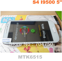 5.0 inch  S4 i9500 MTK6515 Cell phone Android 4.1 Dual Camera WIFI Android phones