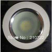 new 3w cob downlight,white shell,warm white/cool white CE&RoHS 2 years warranty light+driver,AC85-265V,3000k/6500k