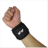 wristband sport  Wrist Support  Wristbands basketball badminton Weightlifting wrist Sports protective bandage r 1lot=2pieces