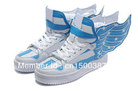 Free Shipping Jeremy Scott Wings USA Flag Shoes JS Wings Flag Sneakers For Men & Women Casual shoes