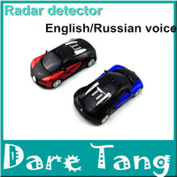 High Quality Auto Radar Laser Detector Russian/English Warning Vehicle Speed Control Detector Radar Detector