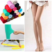 2013 New Sexy Womens 80D Velvet Panty Hose Pants Silk Stockings Suitable Spring, Autumn, Winter YIWU Facotry 11 Color