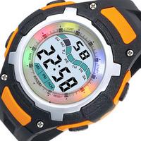 Promotion price top brand MINGRUI colorful electronic watch male women's kids fashion outdoor waterproof sports watch 8009x