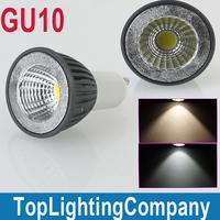 GU10 AC 85-265V 4W /6w COB Spot Light Bulb Cool White/Warm White