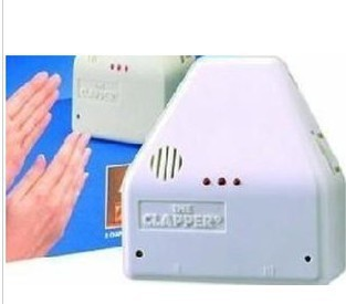 Free Shipping 110V Clapper Clap on Clap off! voice operate Switch ,inductive switch clap on As Seen On TV In Retail Package