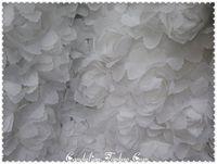 2015 Diamond Painting Chromophous Three-dimensional Flowers New 3d Flower Chiffon Rose Diy Handmade Fabric Lace Fashion Fabrics