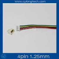 Mini. Micro 1.25 T-1 4-Pin Connector w/.Wire x 10 sets.4pin 1.25mm