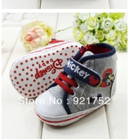 free shipping Soft bottom baby shoes, baby first walker shoes, baby sneaker shoes  1404