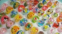 50Pcs Free shipping Children/Kids/Girls Cartoon Rings lovely superman animation cartoon child's Resin rings jewelry jewellery