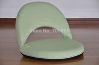 TA37-3  outdoor furniture  Beach Chair Floor folding  (1 To 5 Adjustable)  light green color folding portable beach chair