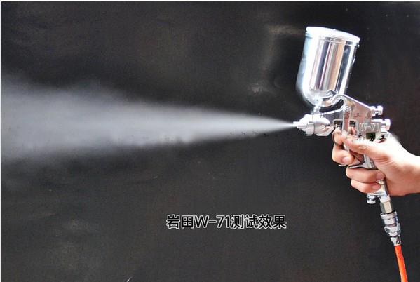 HOT Imported Japanese w-71 Paint Spray Gun/Furniture/Wood Automotive Paint Spray Gun Free Shipping H107(China (Mainland))