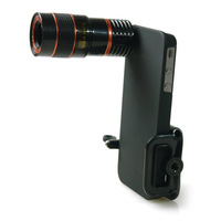 Free shiping 8X Lens for iphone4/4s/5 With Tripod, 8X ZOOM Optical Telescope Camera Lens for iphone4/4s/5