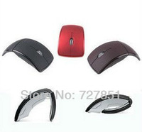 Hot Sale--Wireless Mouse,Snap-in Transceiver,2.4G USB Cordless Folding mouse .FREE SHIPPING