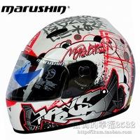 cool Marushin quality motorcycle helmet automobile race helmet