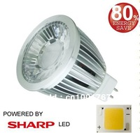 GU10 LED  8W  SHARP COB LED  spot light  GU10  110-240VAC  dimmable  GU10 lamp   MR16 LED 8W  12V non-dimmable spot light MR16