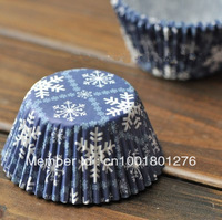 Free shipping SNOW type bulk 250pcs/lot High temperature baking greaseproof paper mini muffin cupcake liners/wrappers