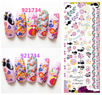 nail sticker stamping  nail art stamp HOT SALE 3d  water decal nail  water transfer HOT51 CATS