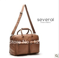 Handsome classic BOSS cylinder double pocket large capacity women's formal handbag travel bag