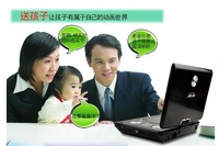 Free shipping 2013 Hot Selling famous brand SAST 7 inch Digital Portable Evd DVD Player home  with TV Tuner and radio