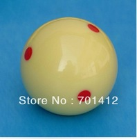 "5pcs/lot 2 1/4"" 6 red dotted whiteball free shipping"
