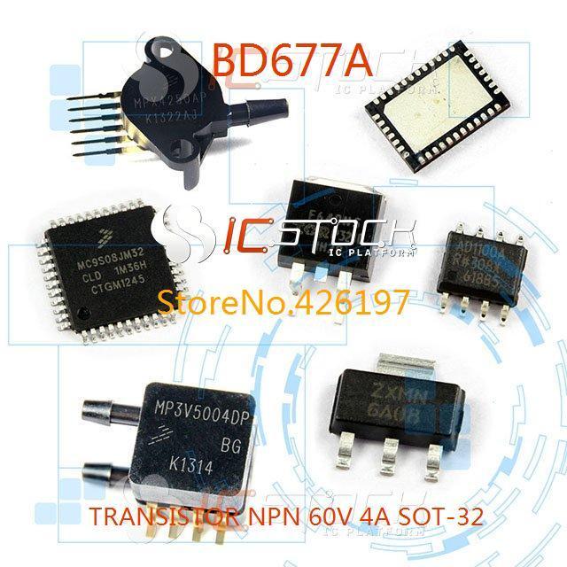 Bd677a транзистор NPN 60 В 4A