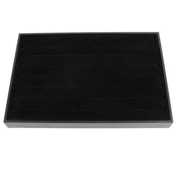 Black Velvet Rings Tray Display,Show Case Organizer Tray Box, Jewelry Display-SL135, Wholsale/Free Shipping