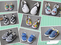 FREE SHIPPING/Retail Hot Selling Fashion Boy&girl Canvas Shoes kids Cute Leisure Sports Shoes Sneakers Rubber  insole13-16.8cm